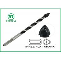 Quality Color Painted Metric Masonry Drill Bits Flute High Corrosion Resistance for sale