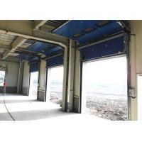 Industrial 40mm Width Insulated Mental Sectional Doors High frequency Motor