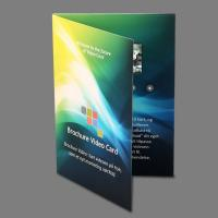 Buy cheap 5 Inch Lcd Video In Print Brochure Personalized Video Greeting Cards product