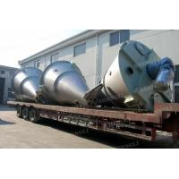 Quality Vertical Type Conical Screw Blender , Mild Steel Double Screw Conical Mixer for sale