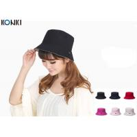 China Popular Custom Caps Hats Embroidered , Black Fisherman Hat For Women on sale