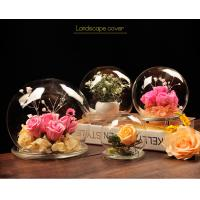 Quality BA (9) home docor clear acrylic spheres cover for sale