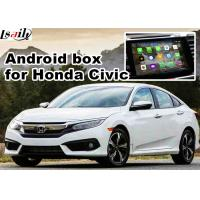 Quality Mirror link 1.6 GHz Quad core Android navigation box interface for 16 honda civic for sale