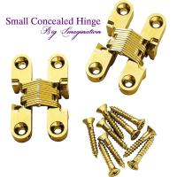 Buy cheap cupboard small concealed hinge SOSS Invisible Hinge Jewelry Box Hinge from wholesalers