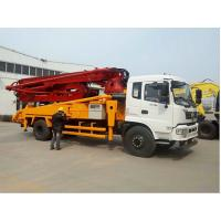 China Flexible Easy Control Concrete Pump Truck 21m/25m/29m Fast Operation on sale