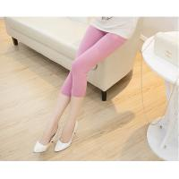 China 16 Colors Summer Capris Pants For Women Candy Color Female Slim Elastic Legging&Trousers on sale