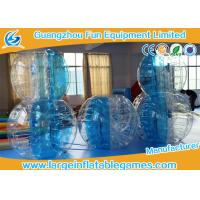 Buy cheap CE Approval Inflatable Bubble Body Soccer / Zorb Football /  inflatable belly ball bump product
