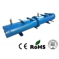Long Life Horizontal Shell And Tube Condenser For Central Air Conditioning