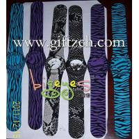 Buy cheap Zebra,Snake,Cheeth Color Printing Silicone Wristband from wholesalers