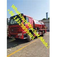 China Customized CLW brand HOWO RHD 8CBM vacuum suction truck for sale, good price HOWO sewage suction truck for sale on sale