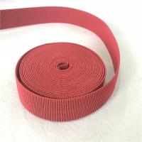 Quality 4cm Width Lawn Furniture Repair Webbing Different Color Accepted Big Tension And Durable for sale