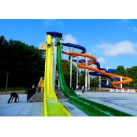 Quality Adults High Speed Racing Freefall Water Slide for Amusement Park ISO CE TUV for sale