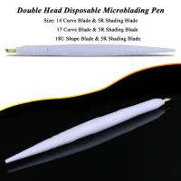 Buy cheap Private Label White Dual Head Disposable Microblading Pen For Hairstroke / Shadow product