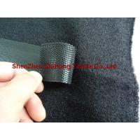 Quality Heavy duty Ultra thick Velcro  injection hook + roving yarn brushed loop for sale
