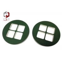 Quality Die-cut Round EVA Foam Packaging Covered With Green Velvet Fabric for sale
