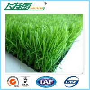 Quality 3 / 8'' Residential Artificial Turf Grass Diamond Shape PE Or V Shape PE for sale