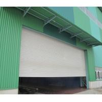 China Sound And Insulated Aluminum PU Roller Shutter Garage Doors With Customized Color on sale