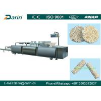 China Automatic Puffed Rice Ball Forming Machine , Fruit Bar Machine Manufacturing Plant on sale