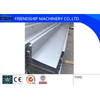 China Galvanized / Aluminum Alloy / Stainless Steel Roof Gutter Bending For Building Materials on sale