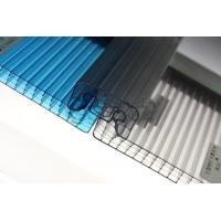 Quality Various Colors Corrugated Polycarbonate Greenhouse Panels Flame Resistance for sale