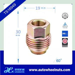 China Thread Size 7/16 Chrome Steel Auto Wheel Nuts / Acorn Colored Lug Nuts on sale
