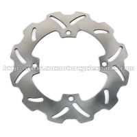 China Solid Rear Steel Motorcycle Brake Disc Rotor With Heat Treatment Processing on sale