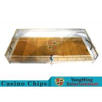Circle And Square Two Yards Casino Chip Case Portable With Cartridge Handle