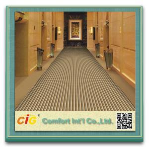 Quality Home / Hotel / Automotive High Quality Silk Carpet , Exhibition Carpet Fabric Tear-Resistant for sale