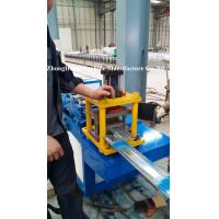 Quality Aluminium Roller Shutter Door Roll Forming Machine 3 Tons 39mm / 42mm / 45mm for sale