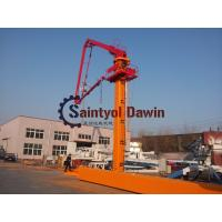 China 29m 32m 33m Column Tower hydraulic Self-Climbing Jack-up Concrete Placing Boom with 22.7m Column on sale