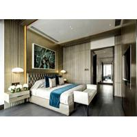 China Fashionable Five Star Hotel Bedroom Furniture Sets Laminate HPL Surface Finish on sale