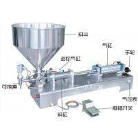 Buy cheap Easy Control Stainless Paste Liquid Filler Equipment Manual Filling Machine product