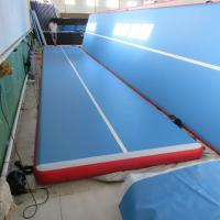 Quality High End Physical Exercises Inflatable Air Track Customized Height / Thick for sale