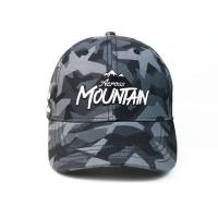 Quality Flat Camo Embroidered Baseball Caps Custom Logo Unconstructed Or Any Other Design for sale