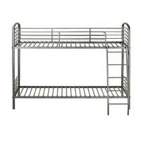 Quality Dorm Room Metal Furniture Bunk Beds With Strong Ladders For Young Kids for sale
