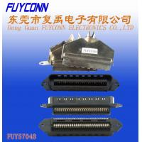 Quality Centronics 25 pairs IDC Male Plug Connector 50 pin 180 degree metal cover for sale