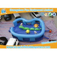 Buy cheap Kids Blue Cartoon  Ocean Inflatable Jumping  Bouncy Castle on sale from wholesalers