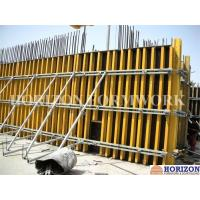 Quality Concrete Wall Formwork System With H20 Wooden Beam and Steel Walers for sale