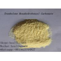 CAS 23454-33-3 Healthy Parabolan Nandrolone Steroid Tren Hexahydrobenzylcarbonate Yellow Powder