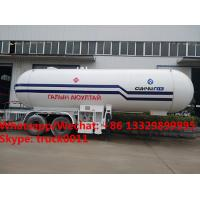 Quality Factory sale best price 40m3 bulk propane gas trailer, HOT SALE! 40,000Liters road transported lpg gas transported tank for sale