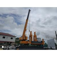 China Narrow Project Hydraulic Jack In Piling Machine , Compact Mini Piling Rig on sale