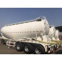 Quality 3 Axle Used Cargo Trailers V Tanker Shape With 40m3 Tanker Capacity for sale