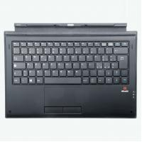 Quality POGO PIN Type Black Computer Keyboard 5 PIN Interface Powerful Magnetic Adsorption for sale