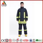 Quality Fireproof FR Firefighter Dress Uniform / Apparel / Turnout Gear XS - XXXXL Customize Size for sale