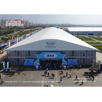 China 40x70m Large Size Span Outdoor PVC Exhibition Hall Tent for Sale Asia Manufacture on sale
