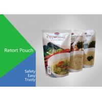 Quality High Temperature Retort Pouch Packaging Laminated Plastic Bags For Food for sale
