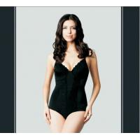 Quality Black Breathable Seamless Polyester Push Up Body Wrap Shapewear   for sale