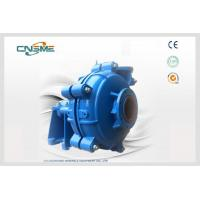 Quality SH Heavy Duty Slurry Pump With Long Life Resistant Centrifugal Slurry Pump for sale