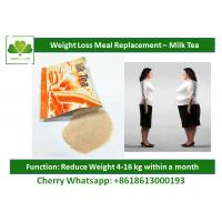 Buy cheap Slimming Milk Tea Natural Meal Replacement Shakes Healthy Protein Shakes For Weight Loss product