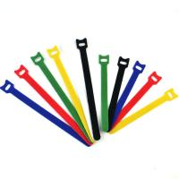 Quality Back To Back Reusable Hook And Loop Cable Ties / Hook Loop One-Wrap Straps for sale